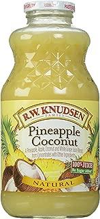 Knudsen Juice, Pineapple Coconut, 1 Quart
