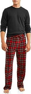 Image of Comfortable Hanes X Temp Cotton and Fleece Pajamas for Men