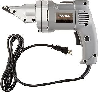 TruePower 01-0161 Heavy-Duty Electric Metal Shear with Swivel Head