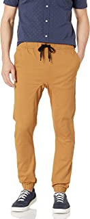 Men's Basic Stretch Twill Jogger Pants-Reg and Big & Tall Sizes