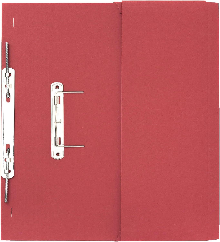 Guildhall Schnellhefter mit Innentasche 315 g m² Kapazität 38 mm mm mm Folio-Format 25 Stück rot B000J6BYL4   Gewinnen Sie das Lob der Kunden  e6a91f