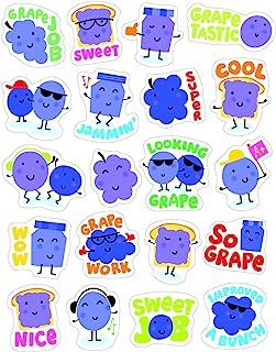 Eureka Grape Stickers - Scented