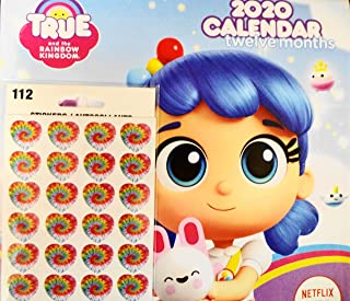 True and The Rainbow Kingdom 2020 Wall Calendar 10