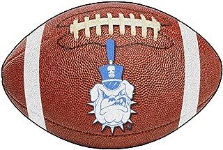 FANMATS NCAA The Citadel Bulldogs Nylon Face Football Rug