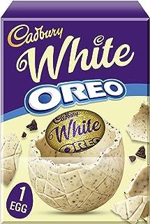 Cadbury White Oreo Large Chocolate Easter Egg, 220g キャドベリーホワイトオレオラージチョコレートイースターエッグ、220g
