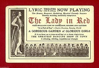 red lyric theatre