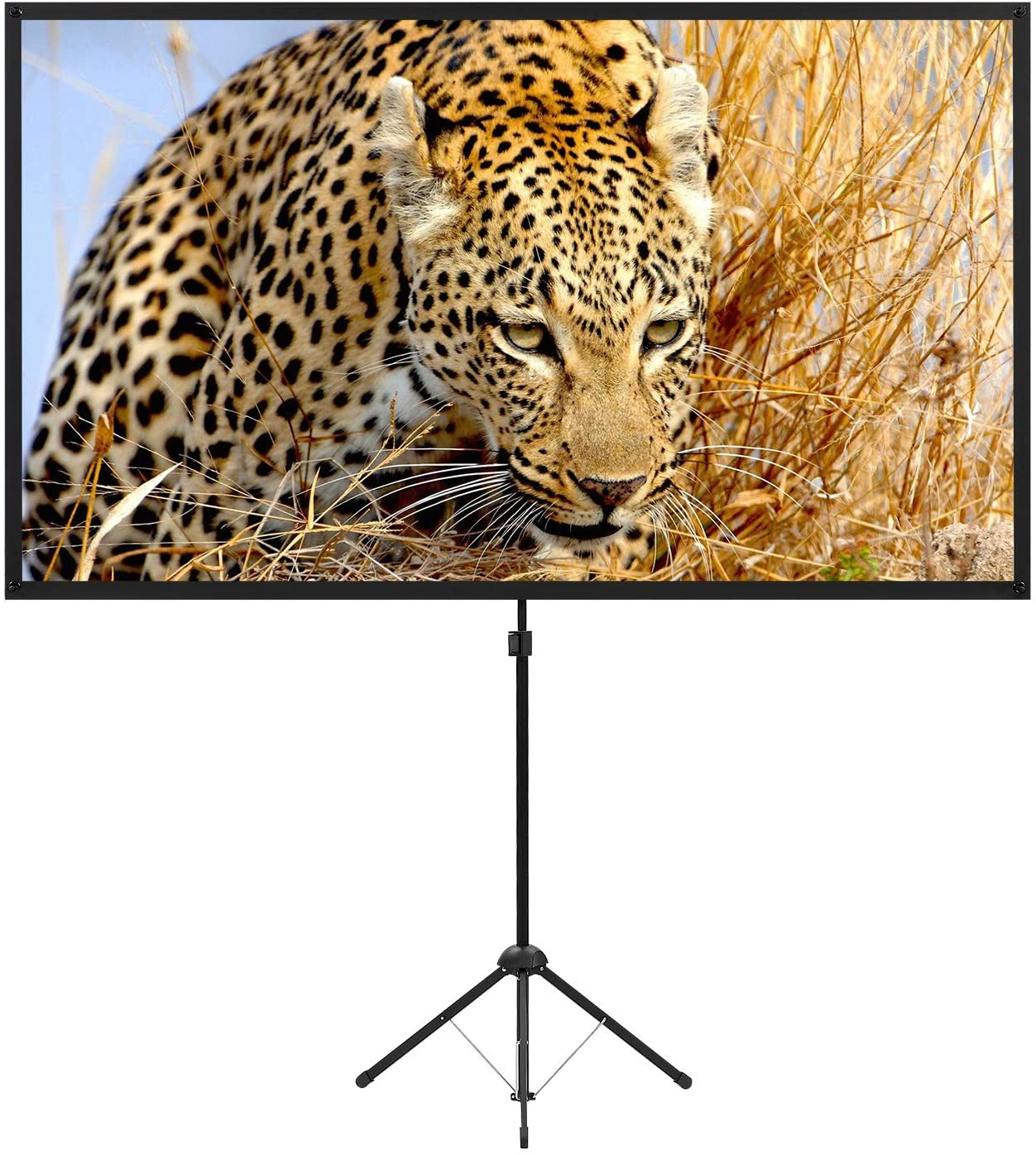Portable Projector Screen with Stand Outdoor Movie 80 Popular Indianapolis Mall I