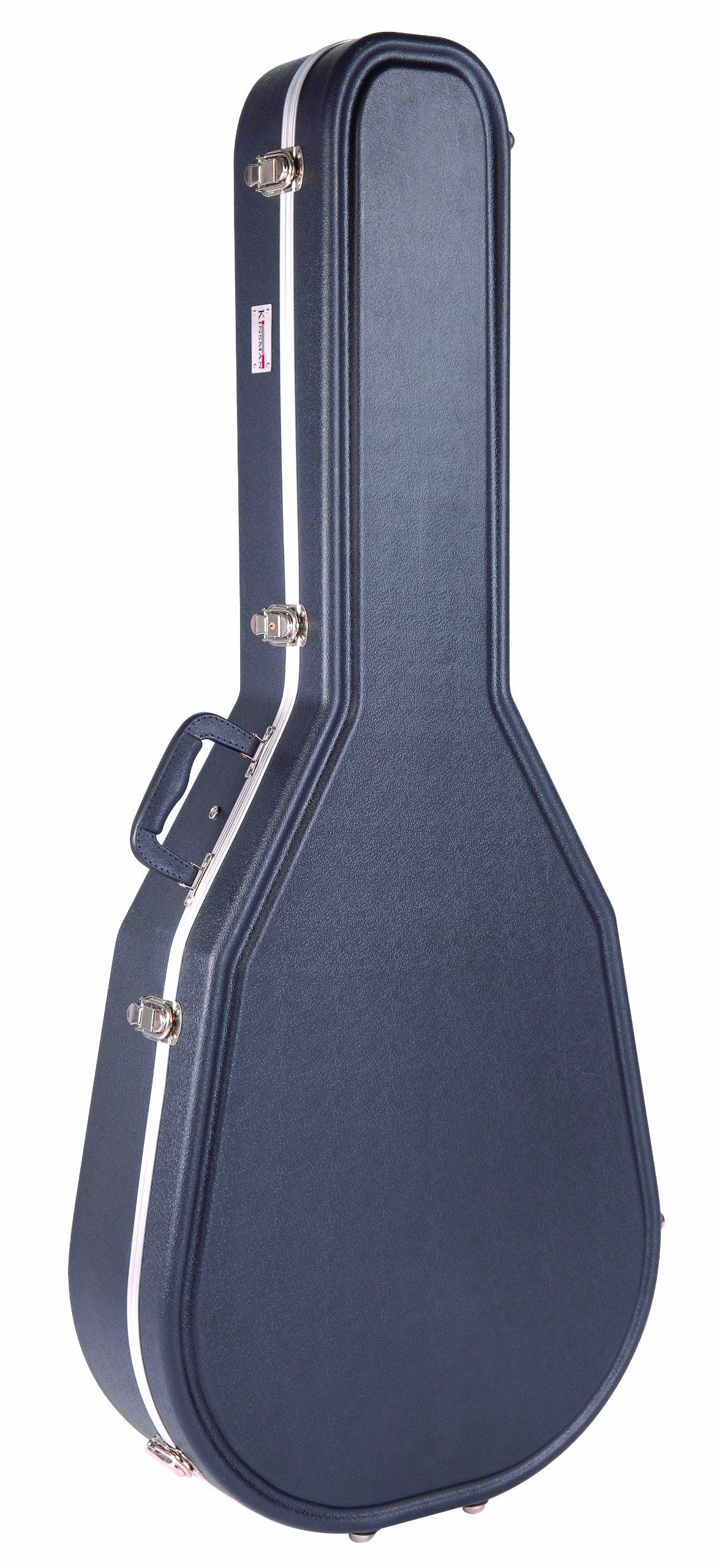 Kinsman KGC8630 - Estuche para guitarra eléctrica de ABS, color negro: Amazon.es: Instrumentos musicales