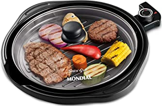 Grill Mondial, Smart Grill 2 em 1, 127V, Preto, 1200W - G-04