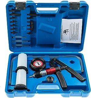 Quiet.T Vakuumpumpe Bremsenentl/üfter Vakuum Bremsenentl/üftungsger/ät Vakuumtester Set Anzeige bis 760 mm Hg mit Koffer