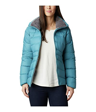 Columbia Autumn Park Down Jacket (Canyon Blue/City Grey) Women
