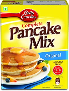 Betty Crocker Pancake Mix | Instant Breakfast Mix | Waffles and Pancake Mix Powder | Original Flavour | Eggless | 500g