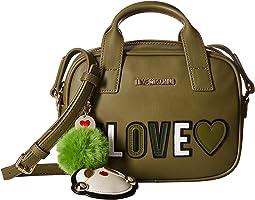 #Love Logo Crossbody Bag w/ Keychain