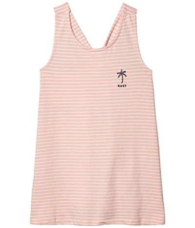 Roxy Kids Next Time Dress (Little Kids/Big Kids) (Silver/Pink) Girl
