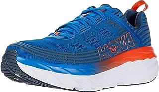 HOKA ONE ONE Bondi 6 Sportschoenen hommes Blauw/Oranje - 47 1/3 - Running/trail