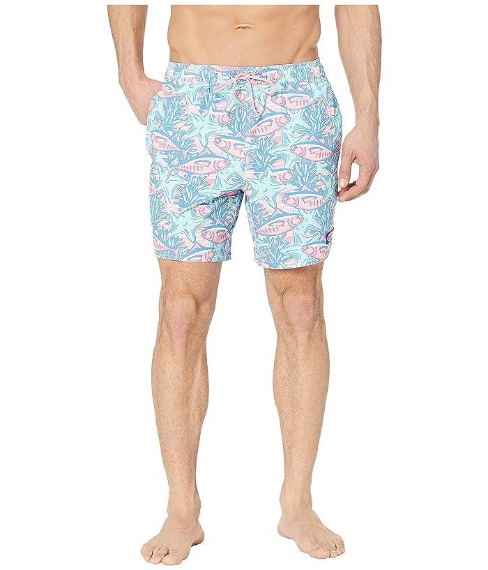 Vineyard Vines Tuna Starfish Chappy Swim Trunks (Palm Beach) Men