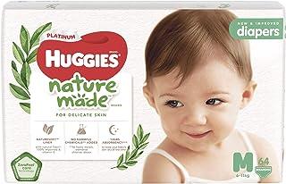 Huggies Platinum Diapers, Medium, 64ct