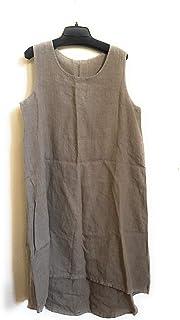 eada0f79205 Bryn Walker Affogato Light Linen Louie Dress Size L MSRP  138