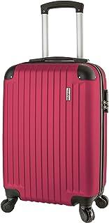 Travelcross Philadelphia 20'' Carry On Lightweight Hardshell Spinner Luggage - Pink