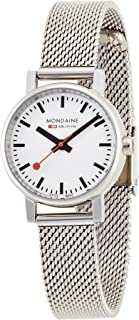 Mondaine Womens A658.30301.11SBV Quartz Evo Steel Band Watch