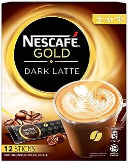 Nescafe Gold Dark Latte Coffee 12 x 31g