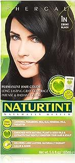 Naturtint - Permanent Hair Colorant - 1N Ebony Black, 5.6 Fl Oz (Packaging May Vary)