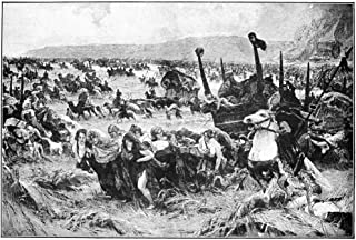 Balkan Insurgency 1876 NTurks And Tartars Return From The Ravaging Of Serbia Line Engraving 19Th Century Poster Print by (...