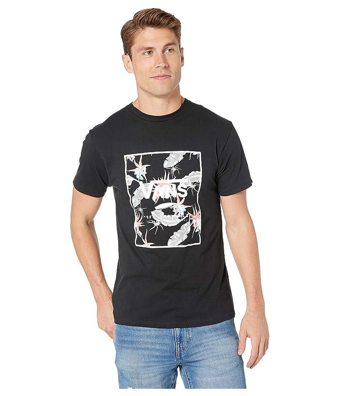 44f8e6240f2edd Vans Print Box Tee (Black/Arachnofloria Black) Men's T Shirt