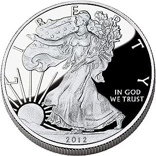 2012 w silver american eagle