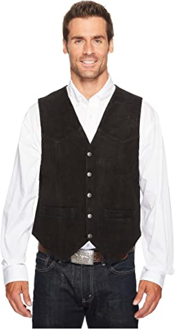 Rugged Calf Suede Vest