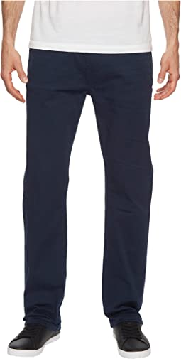 Six-X Straight Fit Jeans Torpedo Fabric in Deep Navy