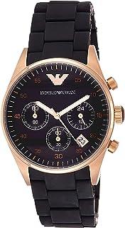 Emporio Armani Fashion Chronograph For Women Analog Stainless Steel Band Watch Ar5906, Quartz
