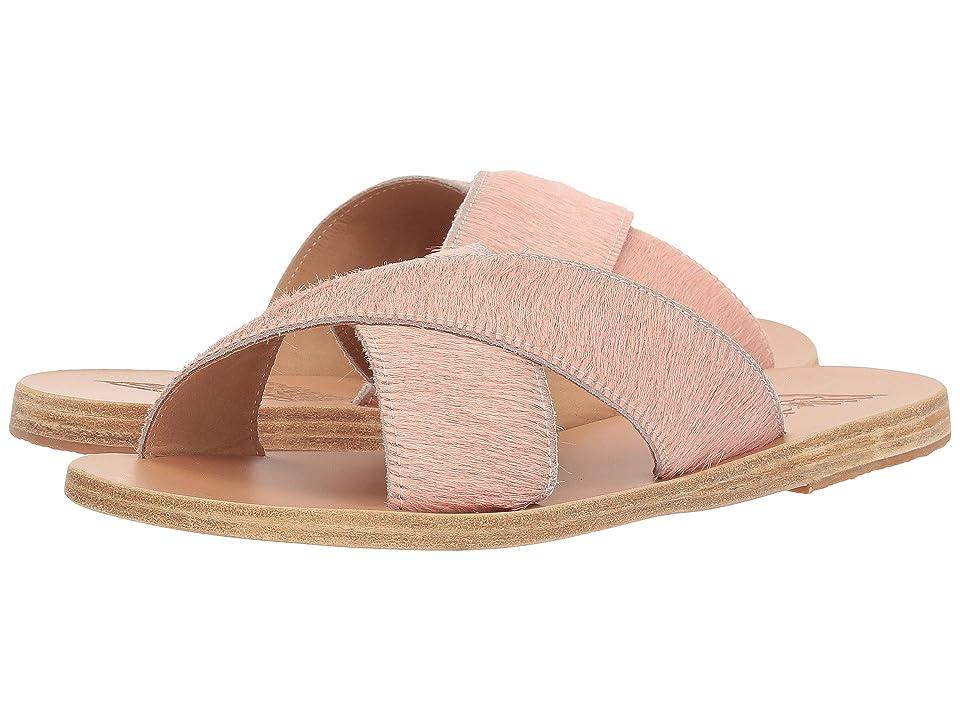 Ancient Greek Sandals Thais (Pink Pony) Women