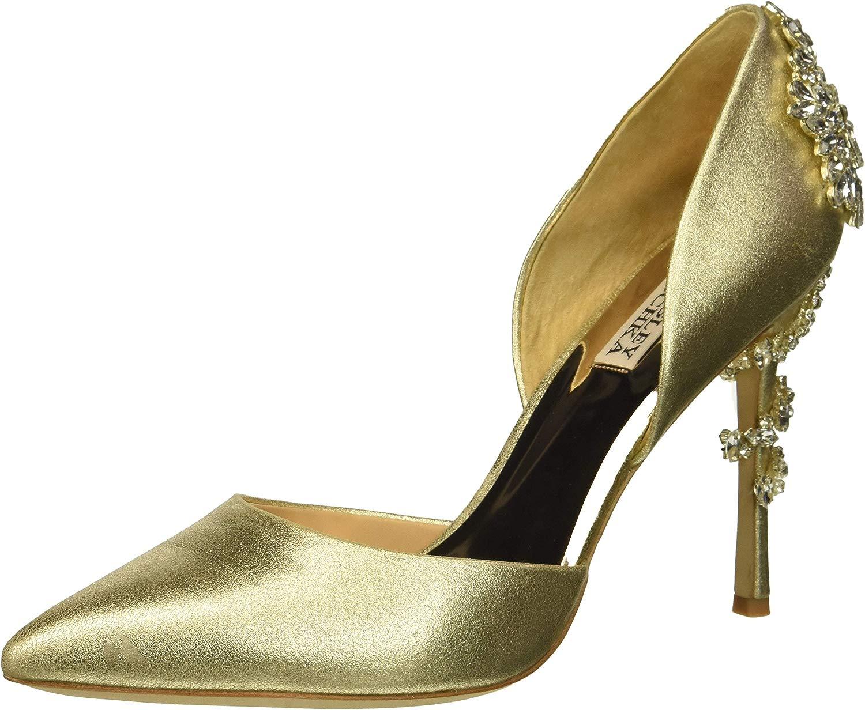 Badgley Mischka Damen Vogue Ii, Platino Metallic Suede, 38 EU EU  das beste Online-Shop-Angebot