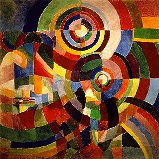 Sonia Delaunay-Terk Electric Prisms 1914 Musee National d'Art Moderne de Paris 30