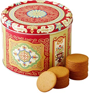 Nyakers Gingerbread Snaps Cookie Tin, Finest Ginger Snaps Original Flavor Swedish Cookie, 750 g - 26.45 oz - 1.65 lbs, Wit...