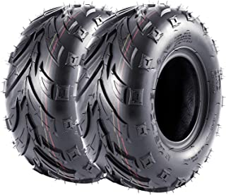 VANACC Mini Bike Tires 145/70-6 Go Kart ATV Tire 145x70-6 4PR Set of 2