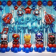 دکوراسیون جشن تولد ابرقهرمانان لوازم جشن تولد کودکان و نوجوانان لوازم و تجهیزات بالون ابرقهرمانی ایده آل برای مهمانی های مخصوص کودکان و نوجوانان شما