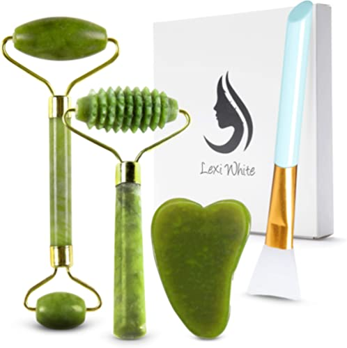 Jade Roller for Face   Beauty Roller to Improve the Appearance of Your Skin, Provide Relaxation, Massage Your Face & ...