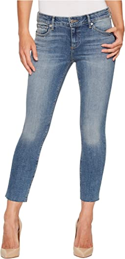 Lolita Crop Cut Hem Jeans in Sunbeam