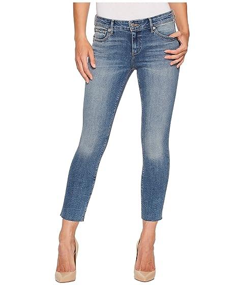 dd58c3b55c8 Lucky Brand Lolita Crop Cut Hem Jeans in Sunbeam at Zappos.com