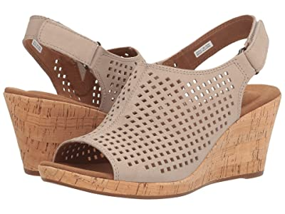 Rockport Briah Perf Sling (Taupe Leather) Women