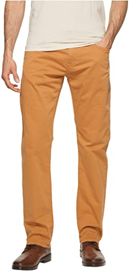 Mavi Jeans Zach Regular Rise Straight Leg in Almond Twill