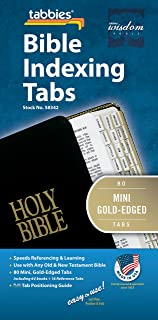 diy bible index tabs