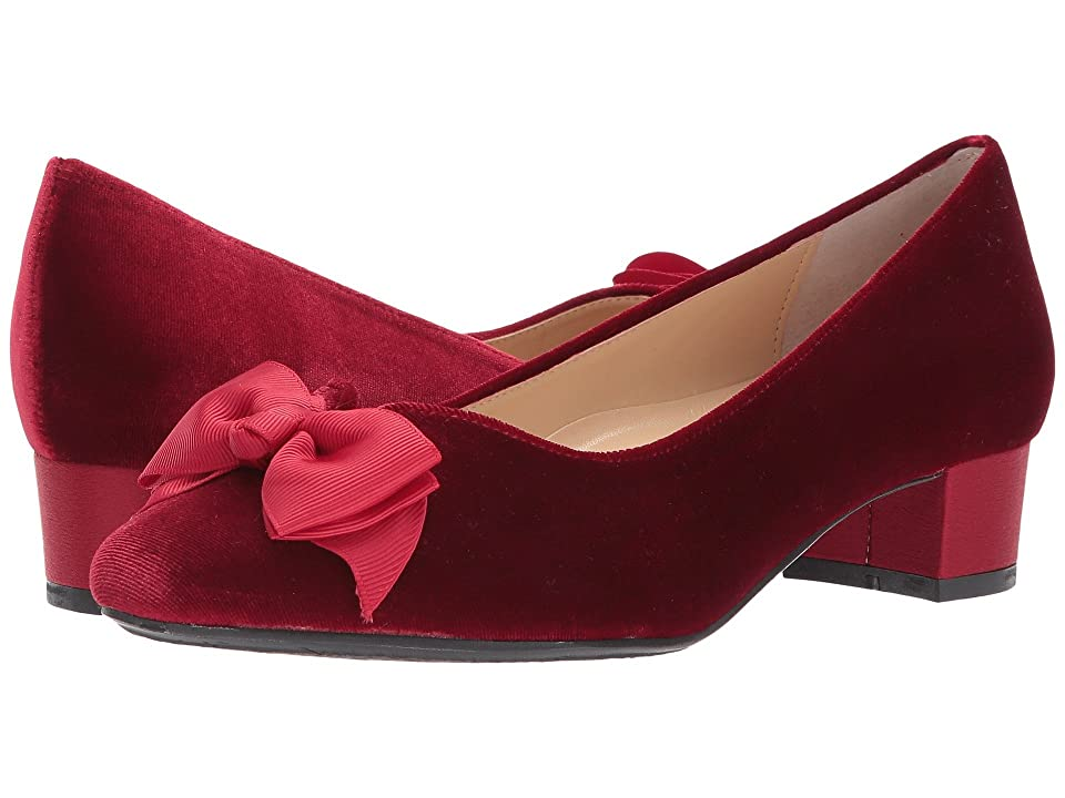 J. Renee Cameo (Burgundy Velvet) Women