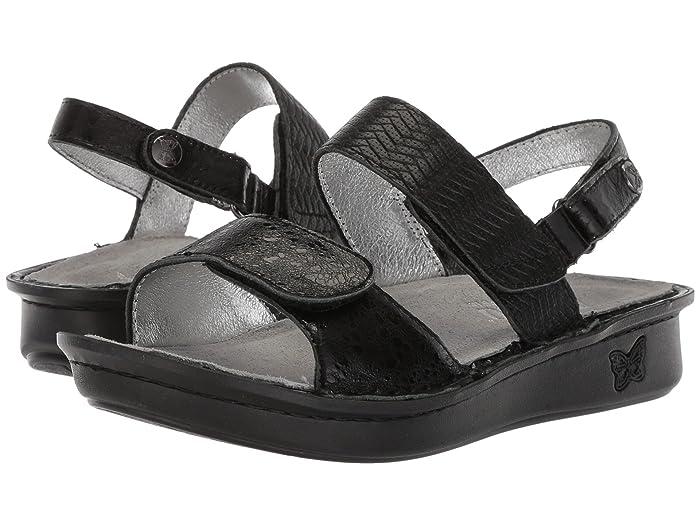 Alegria  Verona (Braided Black) Womens Sandals