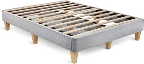 Leesa Twin XL Platform Bed Mattress Foundation, Gray