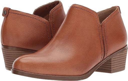 Saddle Tan Tumbled Leather