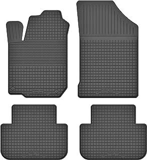 3-teilige schwarze Gummifußmatte für TOYOTA Yaris III 5 türig Bj ab 2011