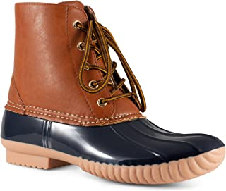Women's Becca Two-Tone Insulated Duck Rain Boot